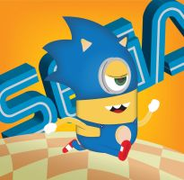 Sonic Minion by Ironpotato