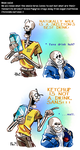 Undertale ask blog: COMMENCE CALCIFICATION by bPAVLICA