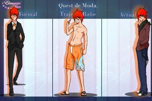 Mini Quest: Fanservice para las fans de Lucas! by Guille300