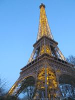 Eiffel Tower 1 by Belly-Button-Monster