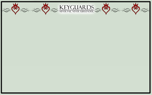 Keyguards Character Sheet by LonnKev