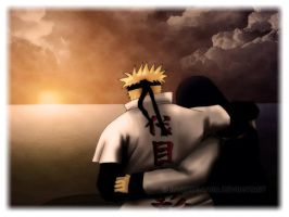 NaruHina 2 - Sunset by bargiegaara