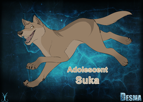 Adolescent Suka by Artzipants