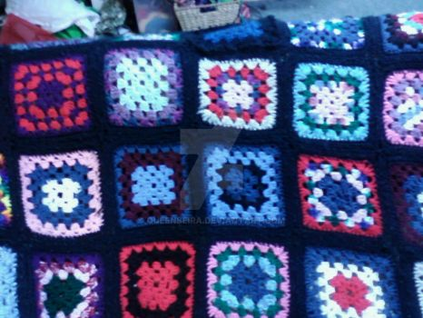 Granny squire blanket by queenbeira