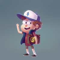 Dipper by Menechi