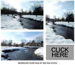 Snowscape River Pack by Sed-rah-Stock
