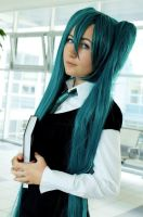 Vocaloid: School girl by ennfranco