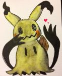 ZIG clean color brush Mimikyu by kiraradaisuki