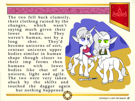 Another Princess Story - Unicorn Centaurs by Dragon-FangX