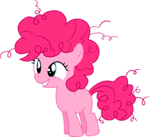 Filly Pinkie Pie (Re-Upload) by Silentmatten
