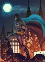 Gotham's Protector by BombOPAUL