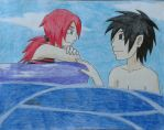 Summer Contest Entree: Ocean Love by NARUFRO93