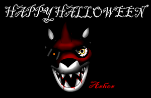Happy Halloween from Ashes by Proceleon