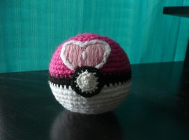 Pokeball, First Attempt by BlueGreenandGold