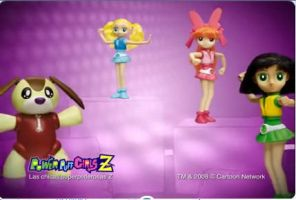 PowerPuff Girls Z Toys by Techgirl10