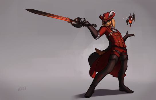 Red Mage [Commission] by ItsWolven