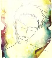Sleeping Zoro:: iPhone Graphics!! by CanadianGothStalker