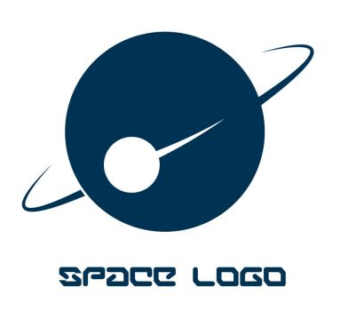Space Logo by avikdey