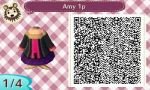Animal Crossing: New Leaf Amy 1p by renaxakai