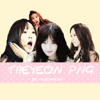 Png Taeyeon By Talmascharn by VGx12