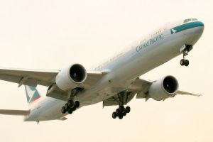 LAX 09 Cathay 777 by Atmosphotography