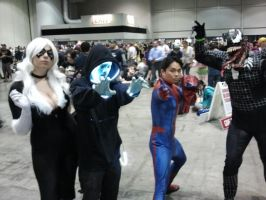 Megacon 2014: Spider Man cosplay group by Oblivion-Evil