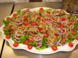 Southern Fried Chicken Salad by Sophizo