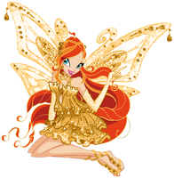 Bloom Gold enchantix by AlexaSpears1333