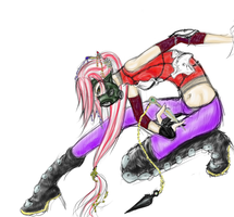 Gas-mask Ninja by quikCHANGEsilver