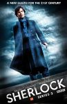 Sherlock - ''Reichenbach Fall'' poster by AndrewSS7