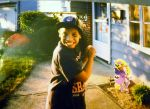 Me as Baseball Player at Age 8 by TheWizardofOzzy