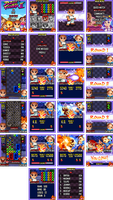 Mobile Game - Puzzle Fighter by Cashong