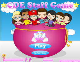 CDE Staff Game by heglys