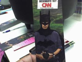 Anderson Cooper is Batman by Little-Lurker