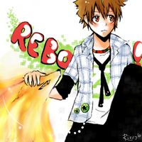 Tsuna and Nuts by Riiru