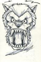 30MM American Werewolf by RobKramer