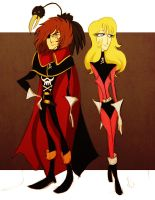 captain harlock by spoonybards