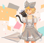 kitty commission by Chuuuki