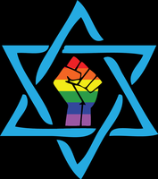 Gay Black Jewish Klan symbol by zimdrake