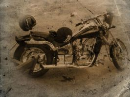 Vintage Chopper by halconrojo2006