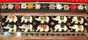 India inspired wall hanging - Detail 9 by RevelloDrive1630