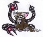 Doc Ock Kitty by kippixin