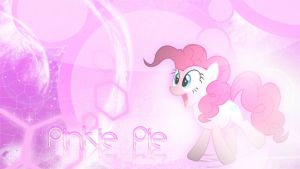 Pinkie Pie Wallpaper by Cr4zyPPL