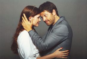 Photo op with Misha Collins. JIB5 by Margarita-Richie