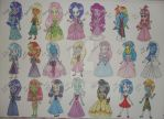 MLP meets Disney (1) by Jeanette9a