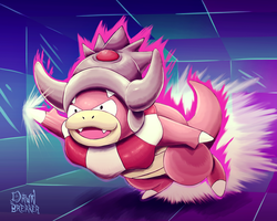 Slowking.... slow?