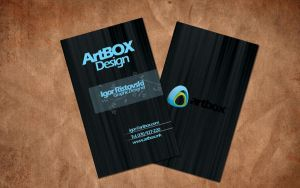 ArtBOX Business Card by comodore64