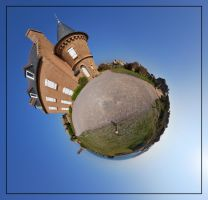 Strange little planet by Craukette