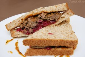 Stewed beef sandwich by patchow