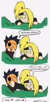 Deidara spies... by NeoSlashott